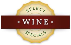 Select Wine Specials